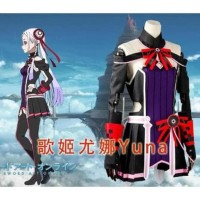 hoot sale READY! Kostum Yuna COSPLAY SWORD ART ONLINE ORDINAL SCALE -