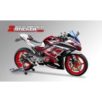 Decal Stiker Kawasaki Ninja 250 Fi Merah Putih
