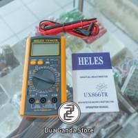Multitester / Multimeter / Avometer Digital Heles UX-866TR
