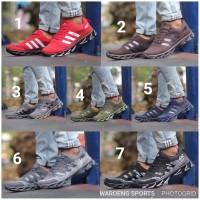 Sepatu Adidas Springblade AX2 Men Cowok Running AX 2 Man Black Red Run