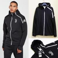 Jaket Hoodie Adidas ZNE Anthem Squad Juve / Juventus