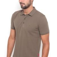 POLICE Kaos Krah Polos Polo Shirt Pria 207200171