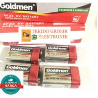 Baterai 9V Baterai Kotak 9 Volt Goldmen