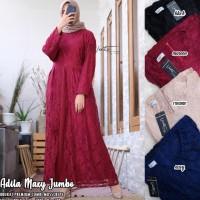 baju wanita gamis adila broklat muslim modern modis unik lucu