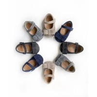 Sepatu Bayi Prewalker Antislip Tamagoo - Jenny Series Murah - 2, Hitam