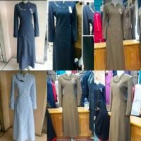 Baju gamis seragam pemda dinas kantor pdh guru wanita