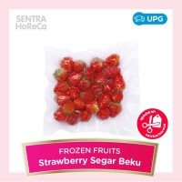 Frozen Strawberry Beku Stroberi