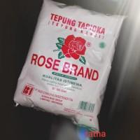 TEPUNG TAPIOKA/KANJI ROSE BRAND 500gram