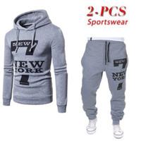 Setelan NEW YORK Pria Murah Sweater Hoodie Jogger Baju Celana Cowok