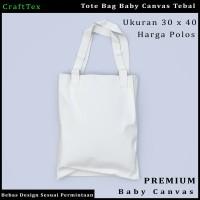 Tas Tote Bag / Tas Jinjing Baby Canvas Polos