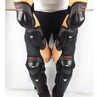 Sepeda Motor 1 Set Pelindung Siku dan Lutut Warna Hitam untuk