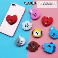 Handphone BT21 Holder Support Cartoon BTS Mobile Stand Bentuk Balon