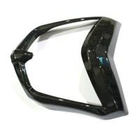Cover List Lampu Depan Headlamp Yamaha New Vixion Lightning Black