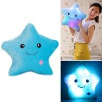 tumblr Colorful Body Pillow Star Glow LED Luminous Light Pillow