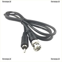 Kabel Adapter Konektor TV BNC Male Ke RCA Male untuk Kamera CCTV DVR
