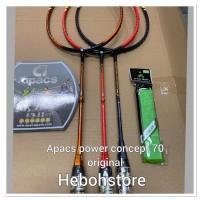 SH SALE Raket Badminton APACS POWER CONCEPT 70 kuat 35 Lbs original!!!