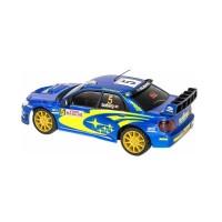 Paling Terlaku Rc Auldey Subaru Impreza Wrc 1:28 Scale Race-Tin New