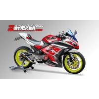 Decal Stiker Kawasaki Ninja 250 Fi Merah Putih 02