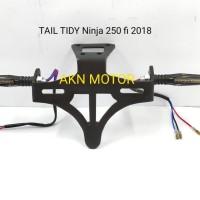 tail tidy plus lampu sein kawasaki ninja 250 fi 2018