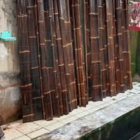 krey bambu hitam size 1x2 mtr/krei bambu hitam/tirai bambu hitam
