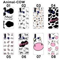 Custom Casing Softcase Anticrack VIVO Y12/Y15/Y17 Motif Sapi Cow Lucu