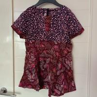 baju blouse wanita cantik batik keris original branded