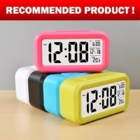 Jam Meja Weker / Alarm Digital Seiko Killer + Kalender + Pengukur Suhu