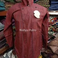 Surjan lurik Baju adat Jogja seragam batik baju dalang Walisongo