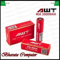 Baterai AWT ImR 18650 3.7V 3000mAh 40A Full Authentic 100% Original