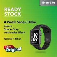 Apple Watch Series 3 Nike+ GPS 42mm Space Gray - Anthracite Black