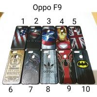 Hardcase Karakter For Oppo F9 back case Hard Case