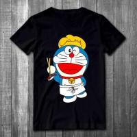 Kaos distro pria Dora Koki T-shirt pria Baju pria Atasan pria