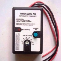 Timer switch auto power OFF - simple fast start saklar ON-OFF 220V AC