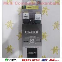 Kabel HDMI 2m Flat - HDMI 2 meter Pipih - SONY