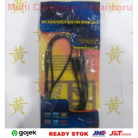 Kabel Perpanjangan Aux 1.5 mtr - Stereo Audio Extension 1.5m