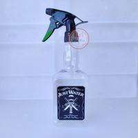 Botol Spray Barber JUSTWATER 600ml Untuk Salon dan Barbershop - Bening
