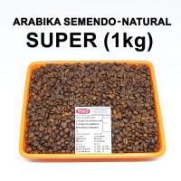 Kopi biji roasting arabika semendo super ( 1kg )