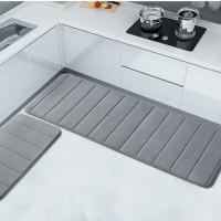 Memory Foam Mat Set / Keset Kaki Rumah Dapur Pintu Kamar Anti Selip