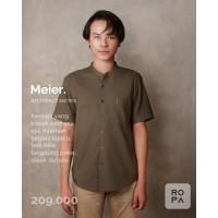 MEIER - Casual Male Shirt - Navy, S