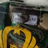 Baju pdl bahan ponco standar local produksi TNI-AD