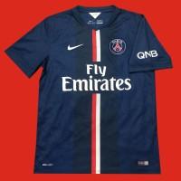 Original Jersey Paris Saint-Germain 2014-15 Home Baju Bola Asli