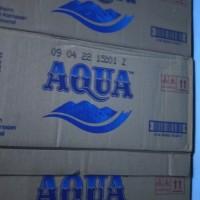 Jamin murah khusus kirim grab/gojek. Aqua 330ml botol mini