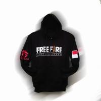 jaket sweater anak hoodie katun free fire baju hangat