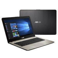 Asus X441BA-GA611T Black AMD A6-9225-4GB-1Tb HDD-14.0 HD-Win 10 Home