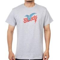 BLOODS Tshirt Kaos Bat 08 Misty Grey - S