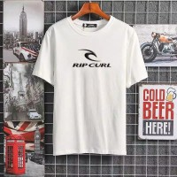 T-shirt Ripcurl / Fashion Baju Kaos Distro Ripcurl Pria Kekinian