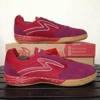 Sepatu futsal specs metasala rival Chestnut red 400727 original Diskon