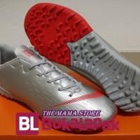 Sepatu Futsal - Nike Mercurial Vapor XII Academy Silver Red - TURF