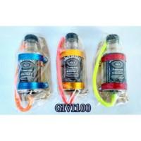Tempat Botol Wadah Oli Samping Variasi Jack Daniels Rx King Mini Kecil
