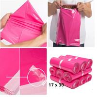 plastik packing ONLINE SHOP 17X30 PINK POLYMAILER